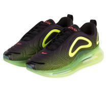 Sneaker AIR MAX 720 - SCHWARZ/ NEONGRÜN