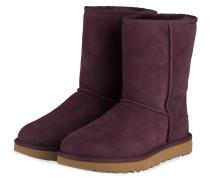 Boots CLASSIC SHORT II - DUNKELROT