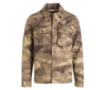 Fieldjacket QUARRY - khaki/ weiss/ braun