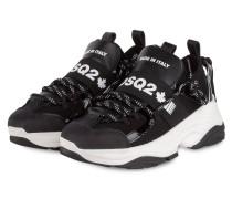 Plateau-Sneaker D-BUMPY ONE - SCHWARZ