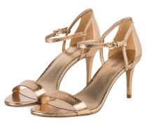 Sandaletten SIMONE - antique gold