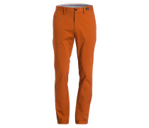 Chino BLEECKER Slim-Fit - cognac