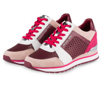 Sneaker BILLIE - mulberry