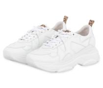 Sneaker CALF LEO - WEISS