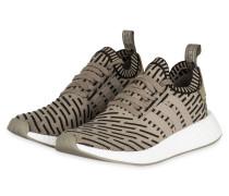 Sneaker NMD R2 PRIMEKNIT - BEIGE