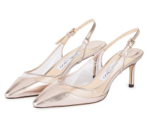 Slingpumps ERIN 60 - ROSÉ/ TRANSPARENT