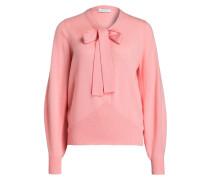 Cashmere-Pullover mit Schluppe