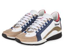 Sneaker 551 - WEISS/ BLAU/ BEIGE