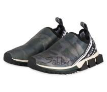 Slip-on-Sneaker SORRENTO - GRÜN/ SCHWARZ