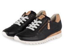 Sneaker - SCHWARZ/ BEIGE/ WEISS