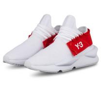 Sneaker KAIWA KNIT - WEISS/ ROT