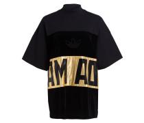 T-Shirt - scwarz/ gold