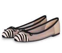 Ballerinas MARILYN - WEISS/ SCHWARZ