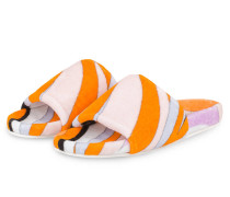 Sandalen - orange/rosa/schwarz