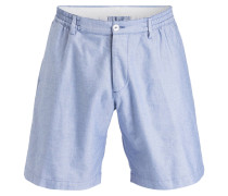 Shorts - hellblau meliert