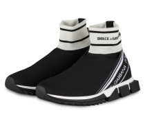 Hightop-Sneaker SORRENTO - SCHWARZ/ WEISS