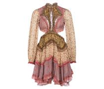 Kleid JUNIPER mit Seidenanteil und Cut-outs