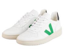 Sneaker V-10 - WEISS/ GRÜN