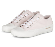 Sneaker ROCK - WEISS/ HELLROSA