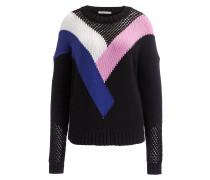 Pullover MARYLENE - schwarz/ rosa/ blau