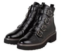 Lack-Boots - SCHWARZ