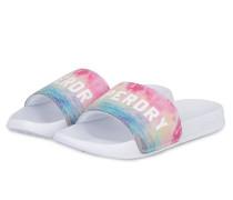 Sandalen - weiss/ pink