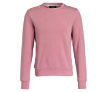 Sweatshirt KAPLER_2 mit monochromer Logo-Prägung