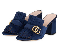 Mules GG MARMONT - BLUE INK
