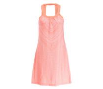 Kleid CANTINE - lachs/ weiss