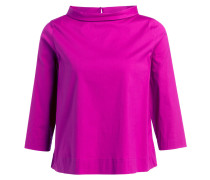 Bluse mit 3/4-Arm - pink