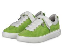 Plateau-Sneaker FLORA - GRÜN