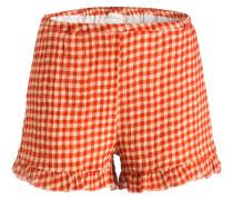 Shorts CRIPITOWN - rot/ creme kariert