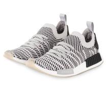 Sneaker NMD_R1 STLT - HELLGRAU/ SCHWARZ