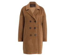 Mantel mit Alpaka-Anteil