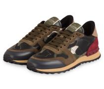 Sneaker CAMOUFLAGE - KHAKI/ BORDEAUX
