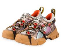 Sneaker FLASHTREK - GRAU/ MINT/ ROSA