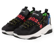 Sneaker D-BUMPY ONE - SCHWARZ