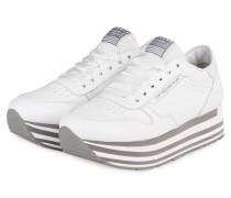 Plateau-Sneaker NOVA - WEISS