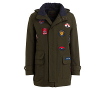 Parka WOVEN mit Patches