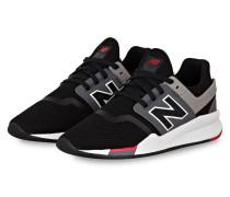 Sneaker MS247 - SCHWARZ/ GRAU/ ROT