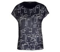 T-Shirt SACE im Materialmix