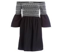 Off-Shoulder-Kleid MADDY - schwarz