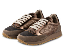 Sneaker - TAUPE/ BRONZE METALLIC