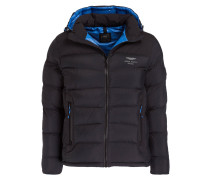 Steppjacke aus der ASTON MARTIN RACING Kollektion