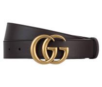 09229f8fd3a62 Ledergürtel GG MARMONT. Gucci