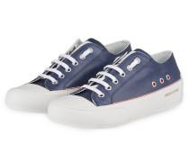 Plateau-Sneaker CAPRI - WEISS/ NAVY