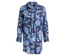 Nachthemd - marine/ hellblau