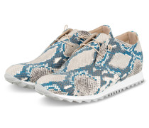 Plateau-Sneaker - HELLGRAU/ BLAU
