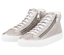Hightop-Sneaker HOXTON - SILBER