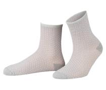 Socken DINA SMALL DOTS COLL. mit Glitzergarn